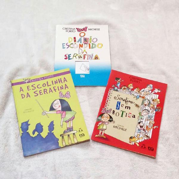 coleção de livros serafina