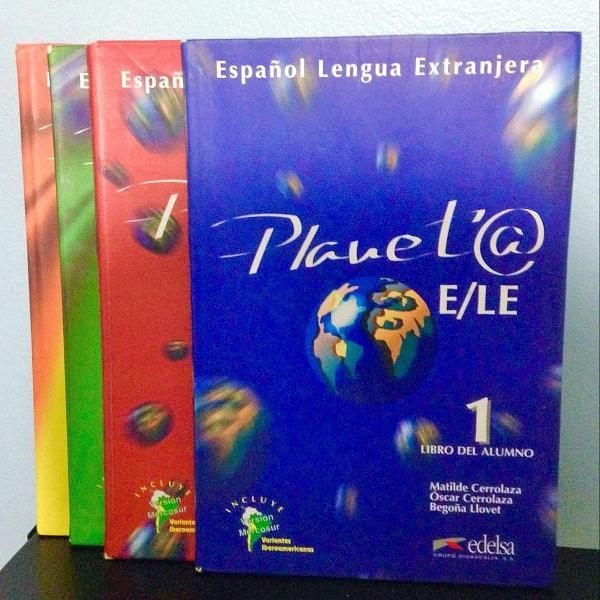 español lengua extranjera (4 volumes)
