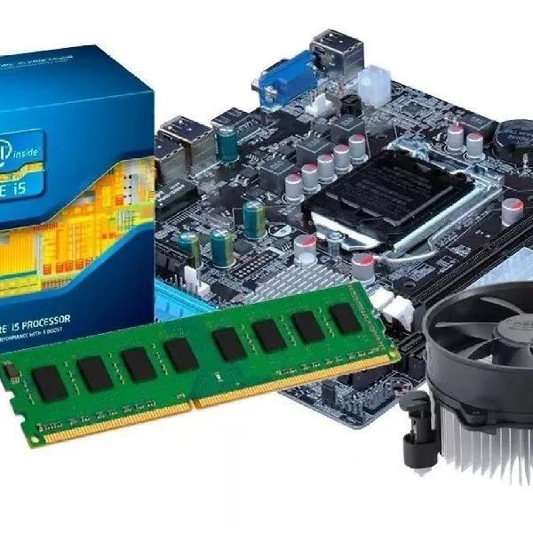 kit i5 3470+ Placa mãe +HD+memória RAM+placa de video