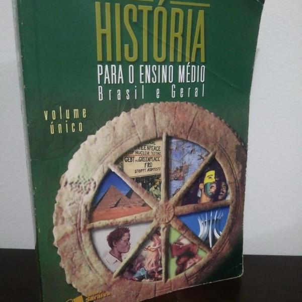 livro didático | história para o ensino médio | brasil e