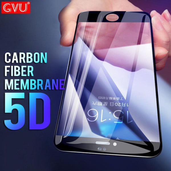 película de vidro + fibra de carbono iphone 7 plus