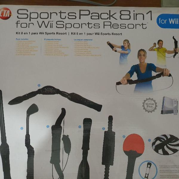 sports pack para wii sports resort