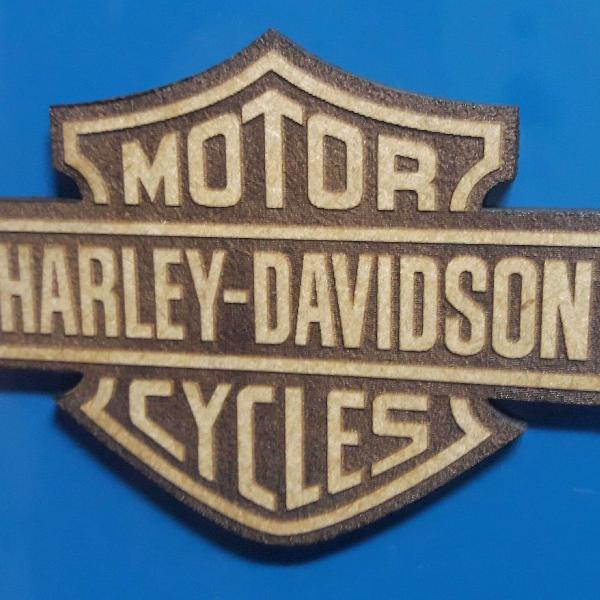 25 Imãs de Geladeira Harley-davidson em MDF cru de 3mm
