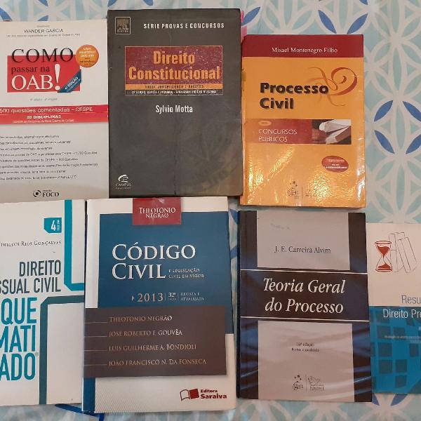 Kit de livros - Doutrinas e Concursos