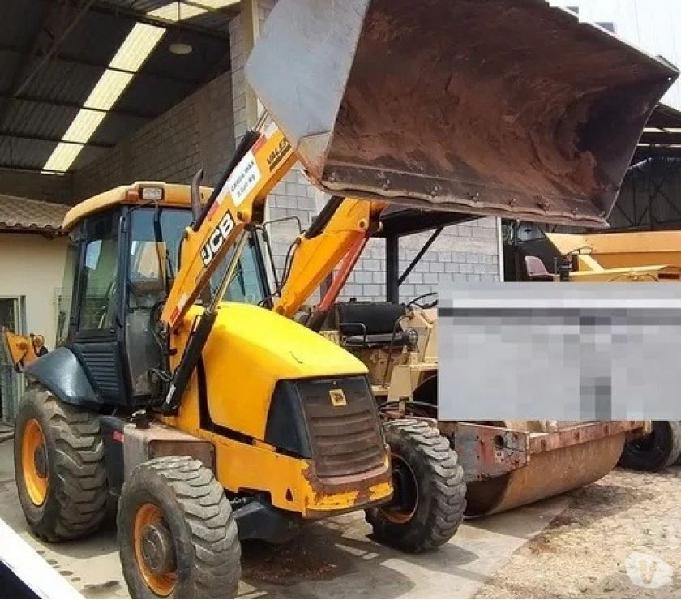 Retro Escavadeira Jcb 3c - 2013- 4x4