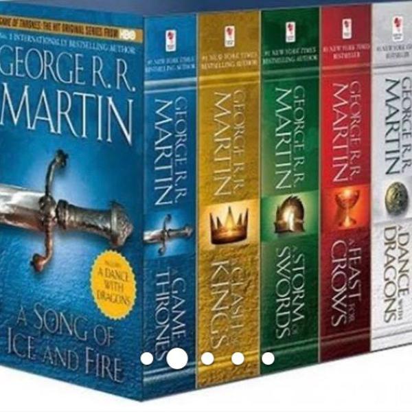 box de livros game of thrones