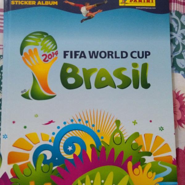 lbum Copa Mundo Brasil 2014 | Capa dura