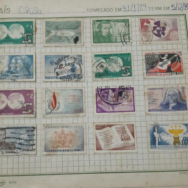 lbum de selos