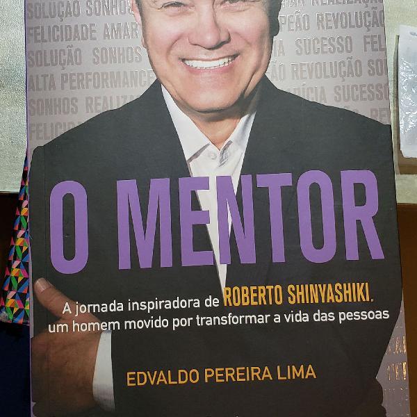 """livro """"O mentor - jornada inspiradora de Roberto"""
