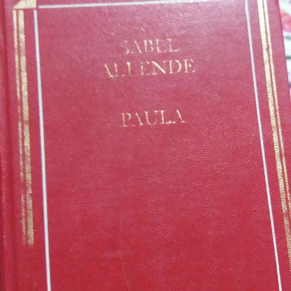 livro Paula da autora Isabel Allende