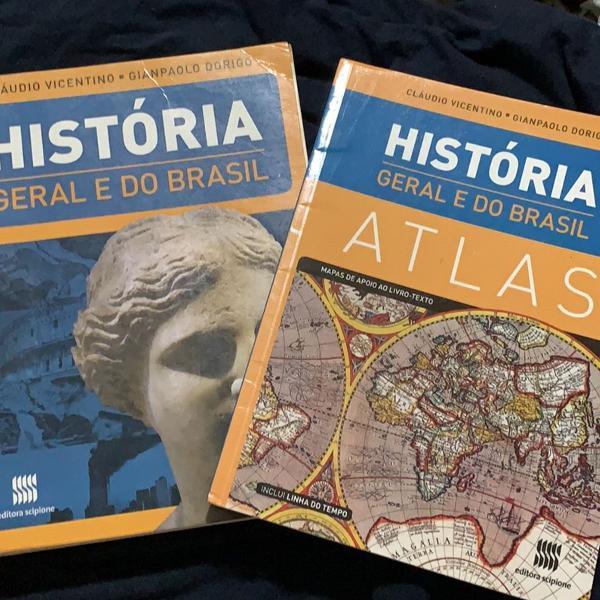 livro de historia geral e do brasil