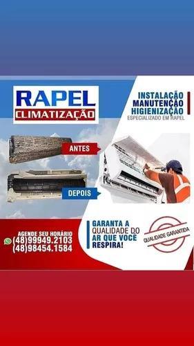 Instalação De Ar Condicionado Com Rapel