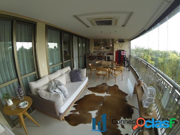 Apartamento com 4 Suítes na Barra da Tijuca - Atmosfera