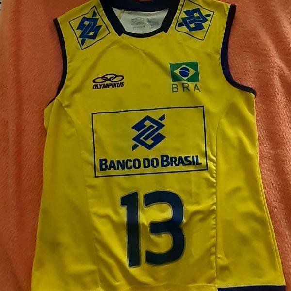 Camisa de Vôlei Seleção Brasileira Original