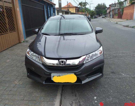 Honda City Lx 2017 automático completo, unico dono, em