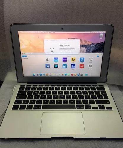 Macbook Air 11'' A1370 2011 Core I7 4gb Ssd 128gb Vitrine