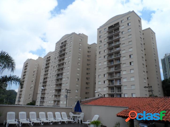 Apto 96 m2, 3 Dorm, 1 Suíte, 2 vagas e lazer, MORUMBI SP