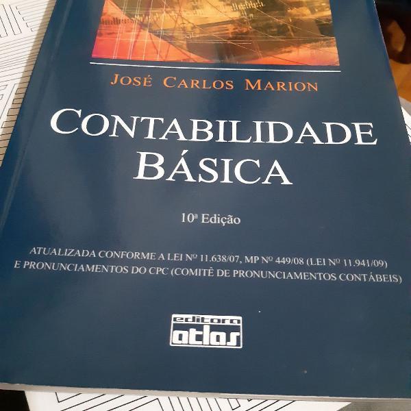 Contabilidade Básica - José Carlos Marion. 10* Edição
