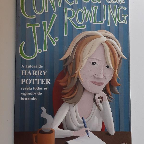 Conversa com JK Rowling