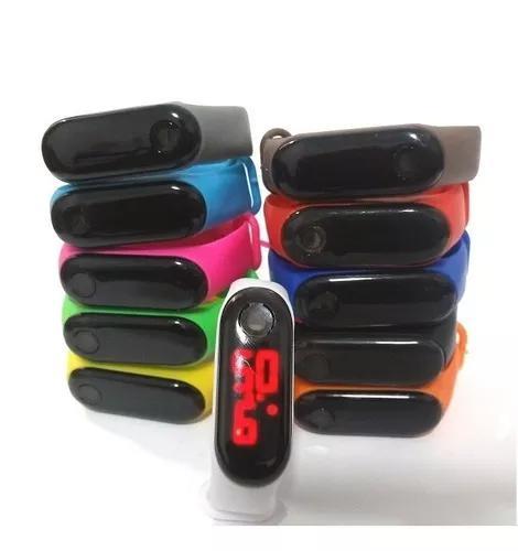 Kit 30 Relógio Pulseira Silicone Digital Bracelete Led -