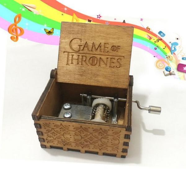 caixinha de musica game of thrones a pronta entrega modelo