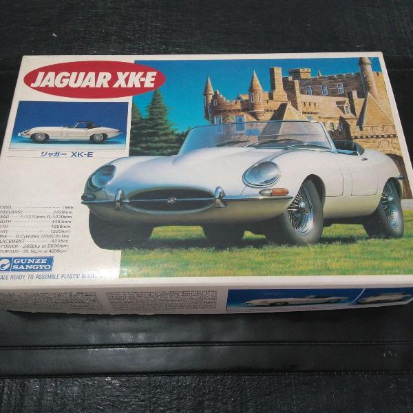 kit p/ montar - jaguar xk - e, plastimodelismo.