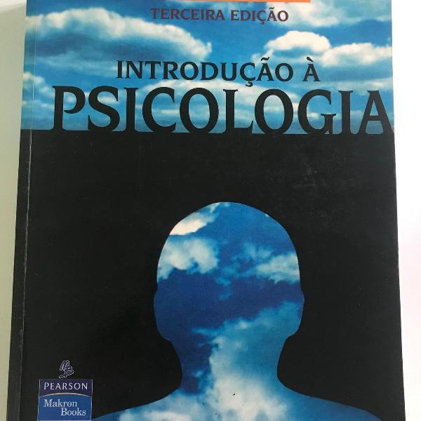 """livro """"introdução a psicologia"""" de linda davidoff"""
