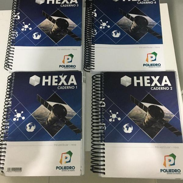 livro poliedro hexa - pré vestibular 2019