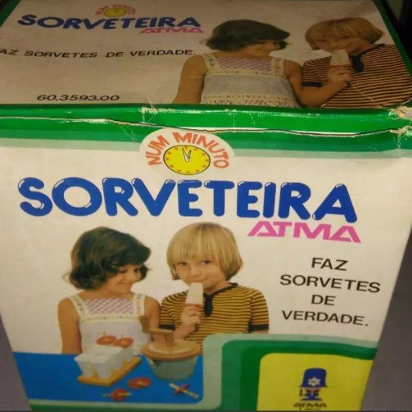 sorveteira atma anos 70 - completo