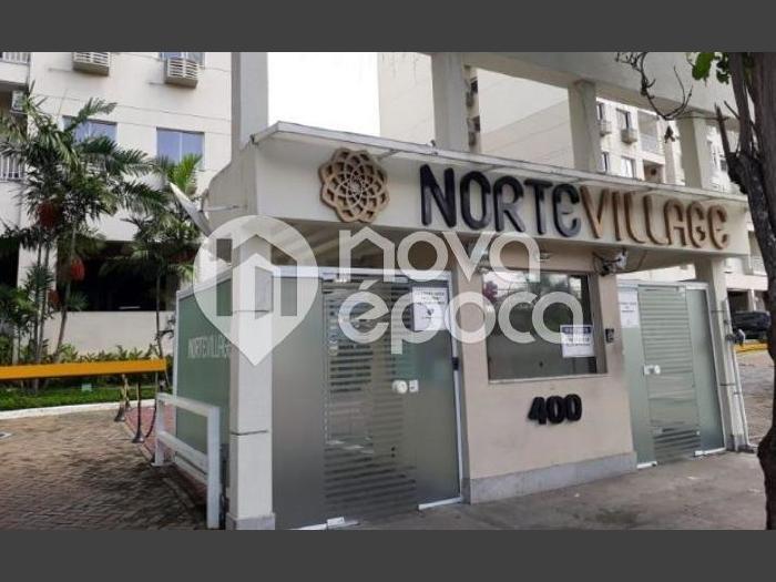 Del Castilho, 3 quartos, 1 vaga, 64 m² Rua Degas, Del