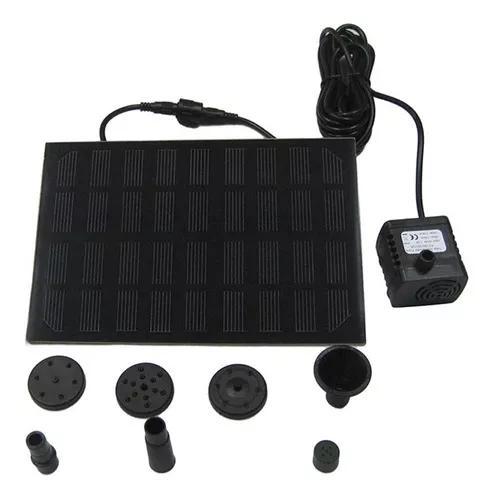 Quadrado 9v 1.8w 200 L/h Fonte Solar Kit Painel Bomba De