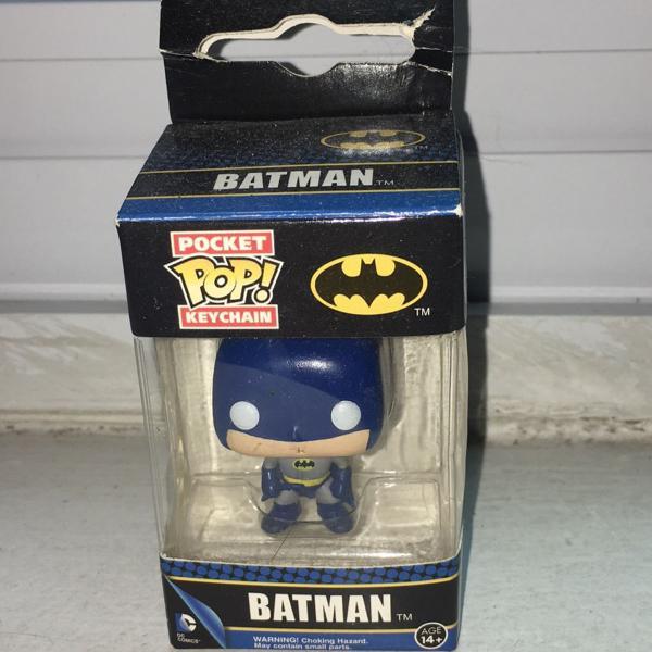 boneco funko pop keychain batman importado
