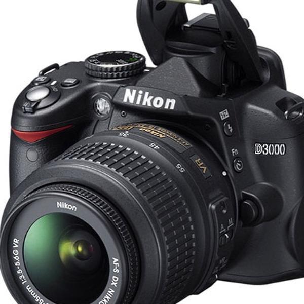 câmera profissional nikon d 3000