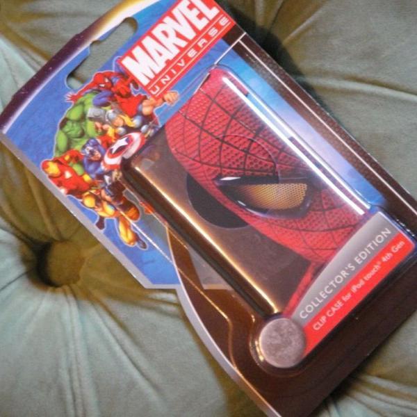 Capa Ipod Touch 4 Da Marvel Filmes Homem Aranha Rara
