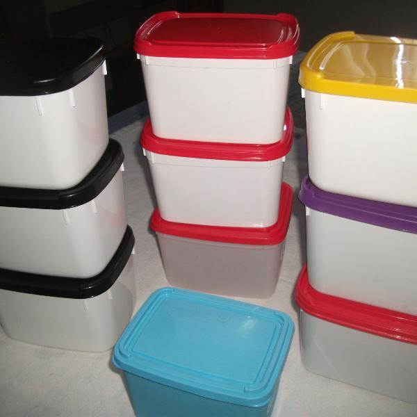 pote de sorvete vazio plástico - lote com 10 unidades.