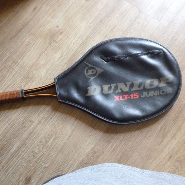raquete de tenis dunlop