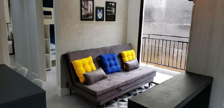 2 dormitórios área de lazer completa - 100 metros do