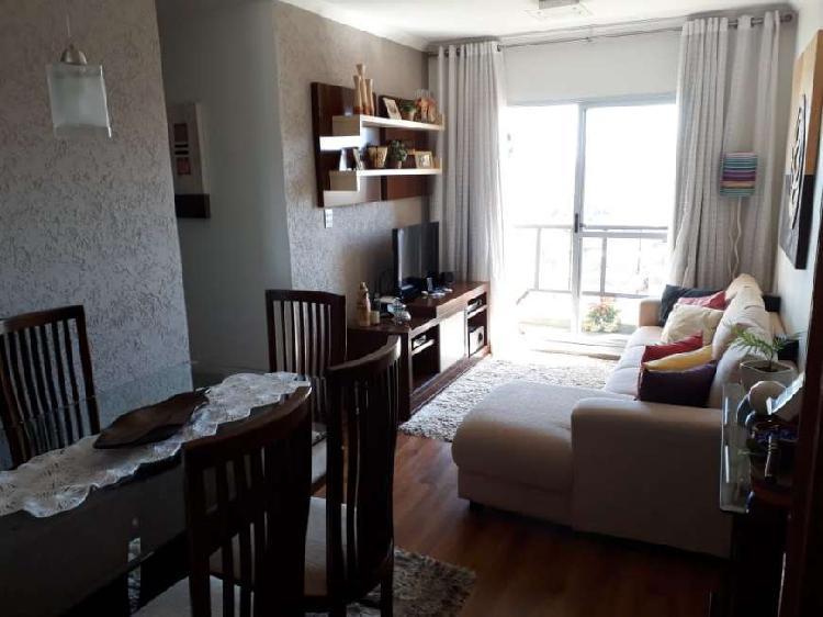 58m² 2 Dorm 1 Vaga Lazer Completo - MOBILHADO - Aceitamos