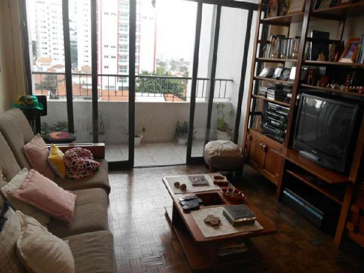 Apartamento 105m² 3 quartos com varanda na Vila Olímpia