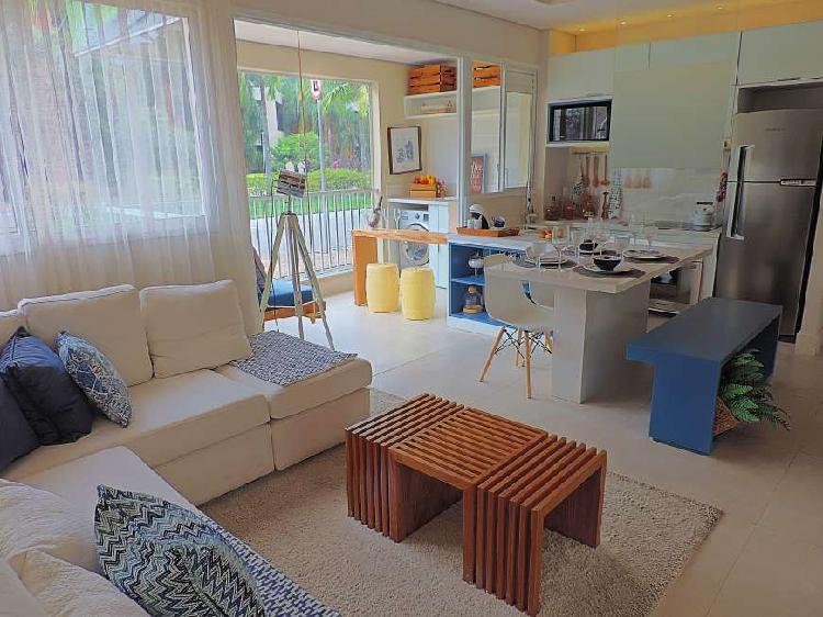 Apartamento de 47 m² com 2 dormitórios e 2 vagas, por: 302