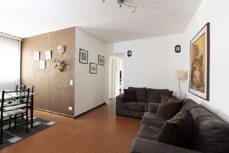 Apartamento de 85 m2, com 3 quartos e 2 vagas, no Campo Belo