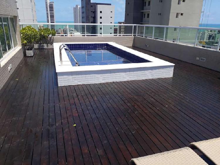 Apartamento para aluguel possui 53 metros quadrados com 2