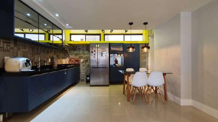 Apartamento para venda com 100 metros quadrados com 3