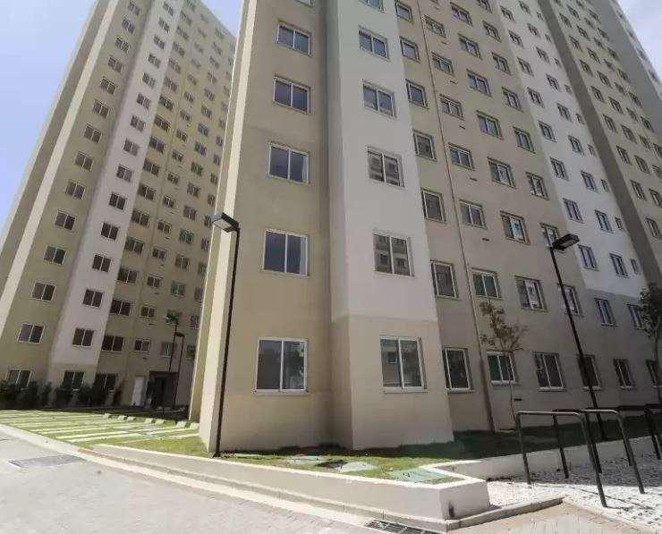 Apartamento para venda com 41 metros quadrados com 2 quartos