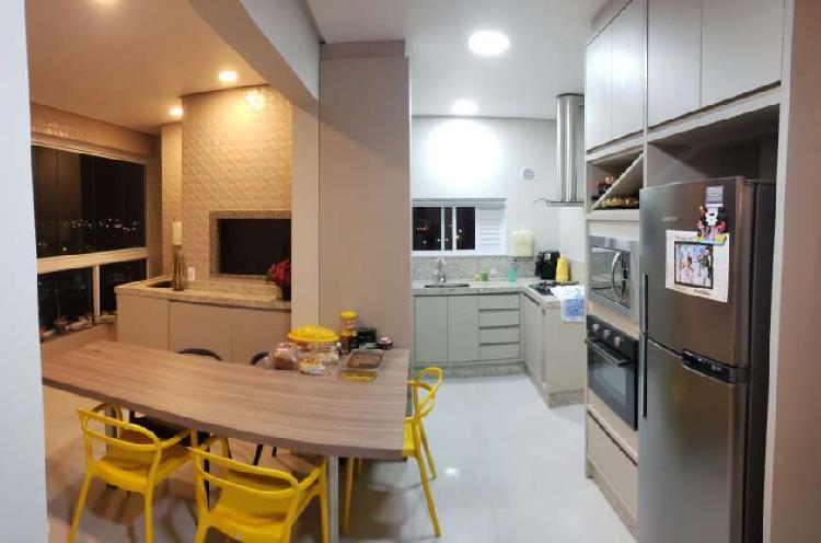 Apartamento para venda com 92 metros quadrados com 2 quartos
