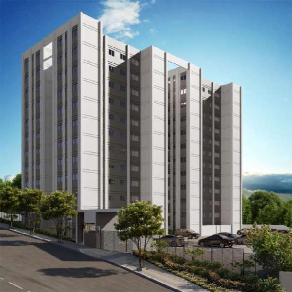 Apartamento para venda tem 48 metros quadrados e 2 quartos
