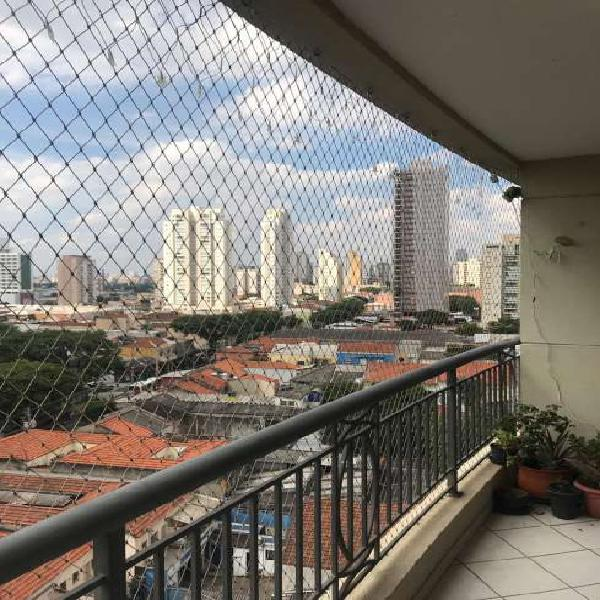Apartamento à venda com 126m², 3 dorms, sendo 2 suítes e