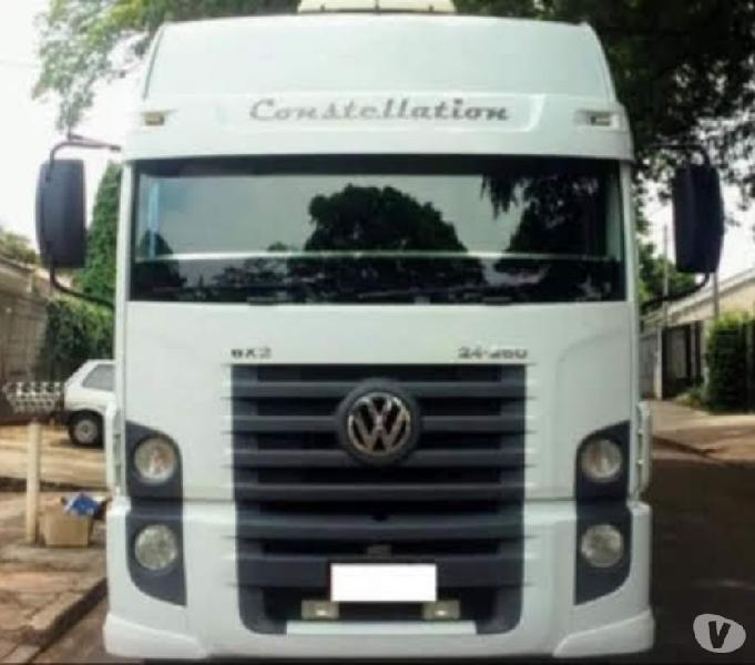 Caminhão vw constellation 2012