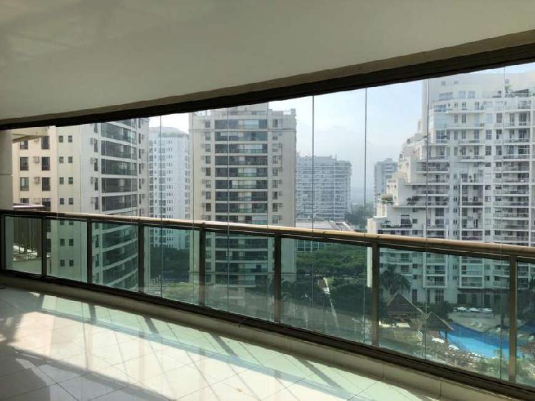 Excelente apartamento 4 suítes Atmosfera - Península -