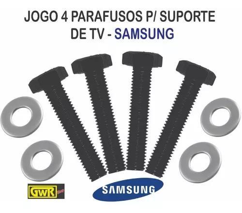 Jogo De 4 Parafusos M8 X 45mm Para Suporte De Tv Samsung